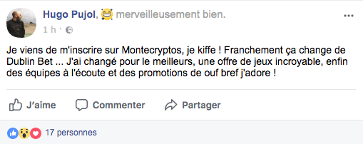 Avis Facebook Montecryptos