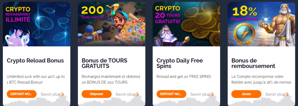 autres promotions montecryptos