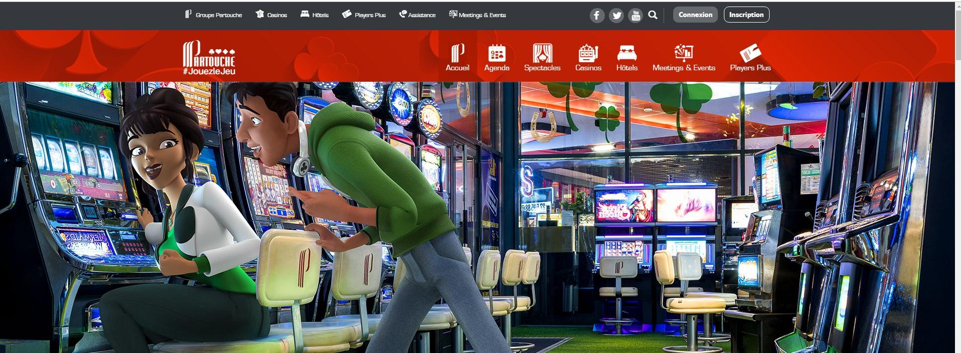 avis jeu de casino machine à sous Partouche