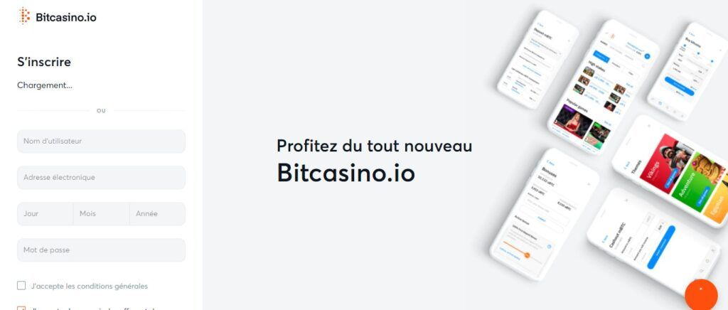 inscription bitcasino