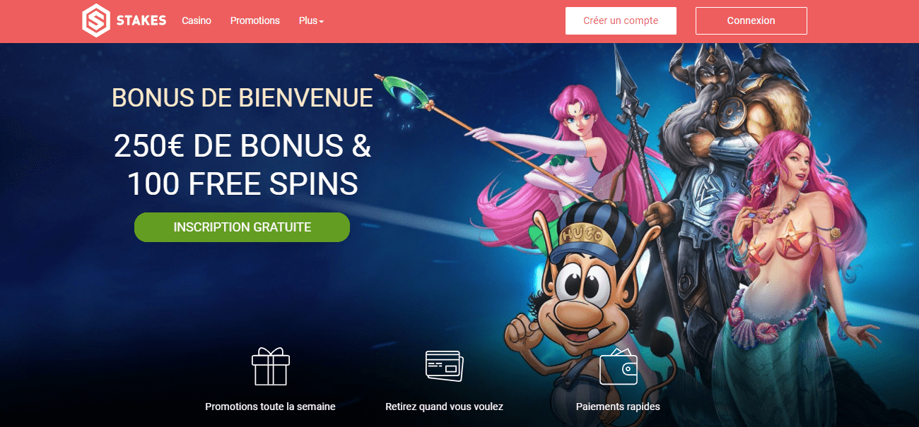 Accueil Stakes casino
