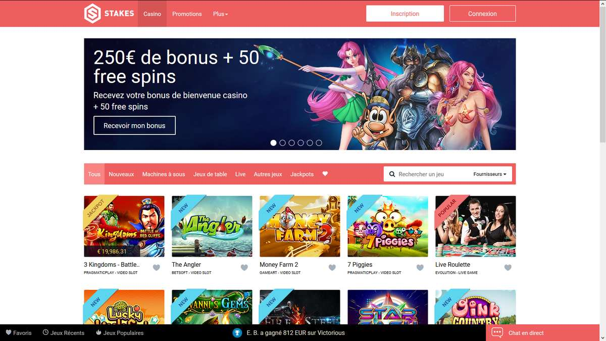 jeux stakes casino