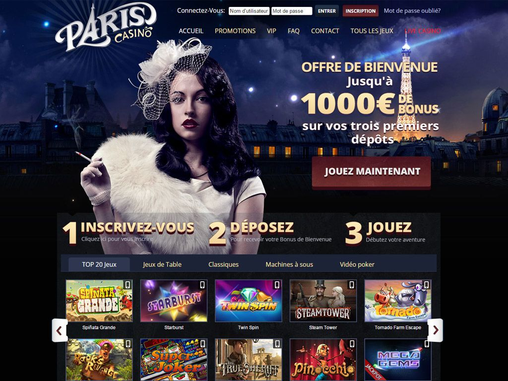paris casino avis