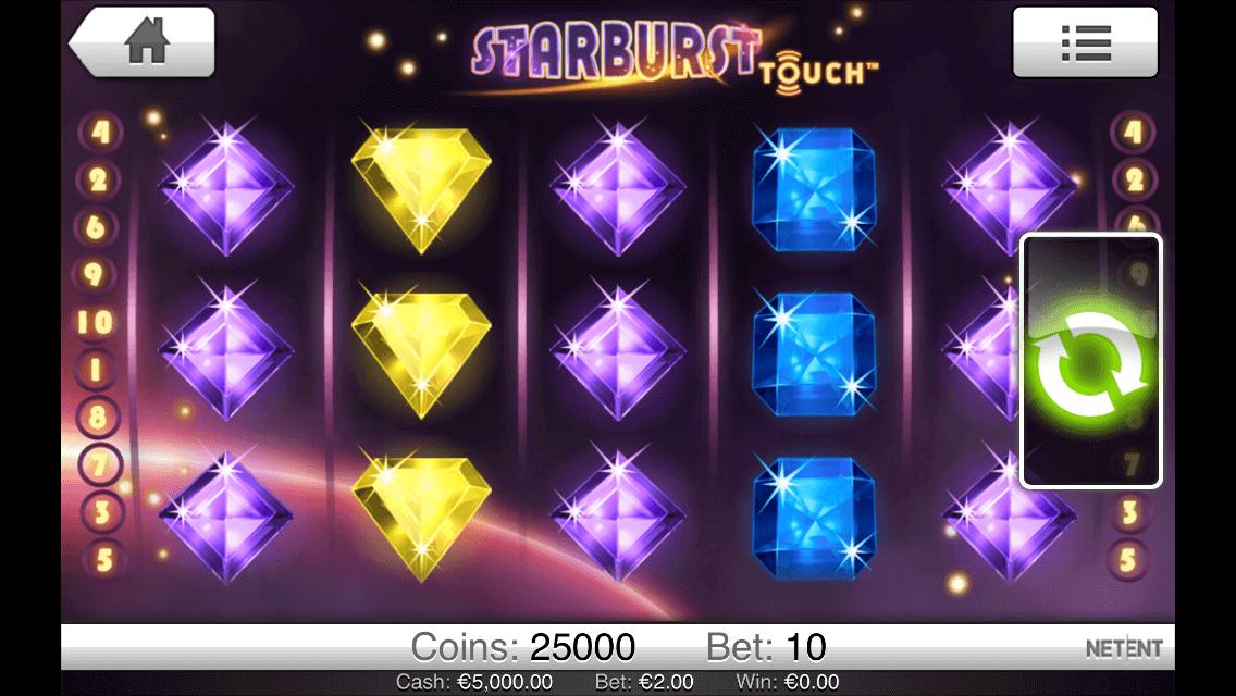 starburst netent meilleures machines à sous